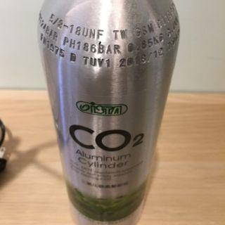 台灣ISTA伊士達-二氧化碳CO2鋁瓶==1L專業型