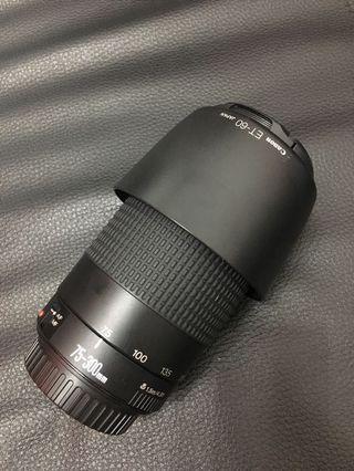 限時特賣 Canon EF 75-300mm 優質打鳥小砲