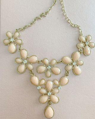 Crystal Necklace   Made in Korea   Kalung Pesta