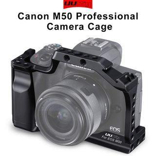 UURig C-M50 Metal Camera Cage for Canon EOS M50