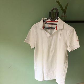 Giordano - White/Red T-Shirt