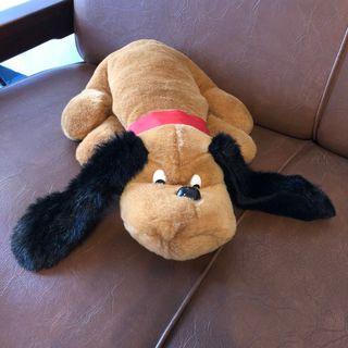 Boneka Anjing Bulldog Coklat