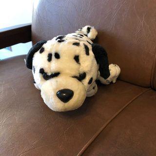 Boneka Anjing Dalmention Totol Hitam Putih