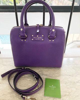 Kate Spade Purple