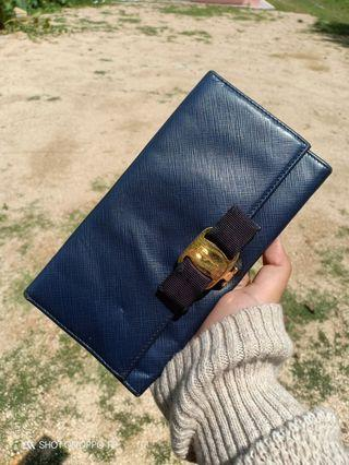Salvatore ferragamo long purse