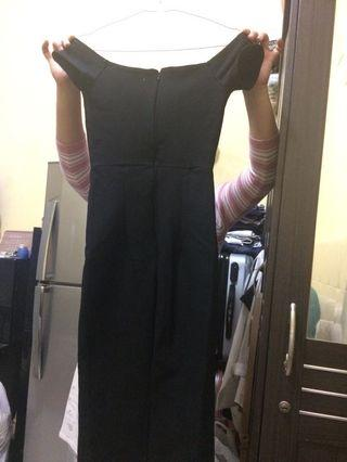 Sexy dress hitam