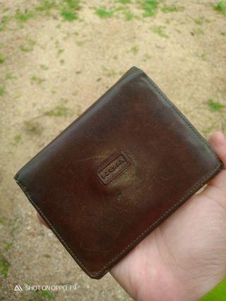 Nom leather wallet
