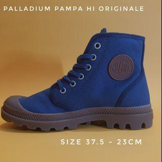 Sepatu Boots Palladium Pampa Hi Originale original size 37.5