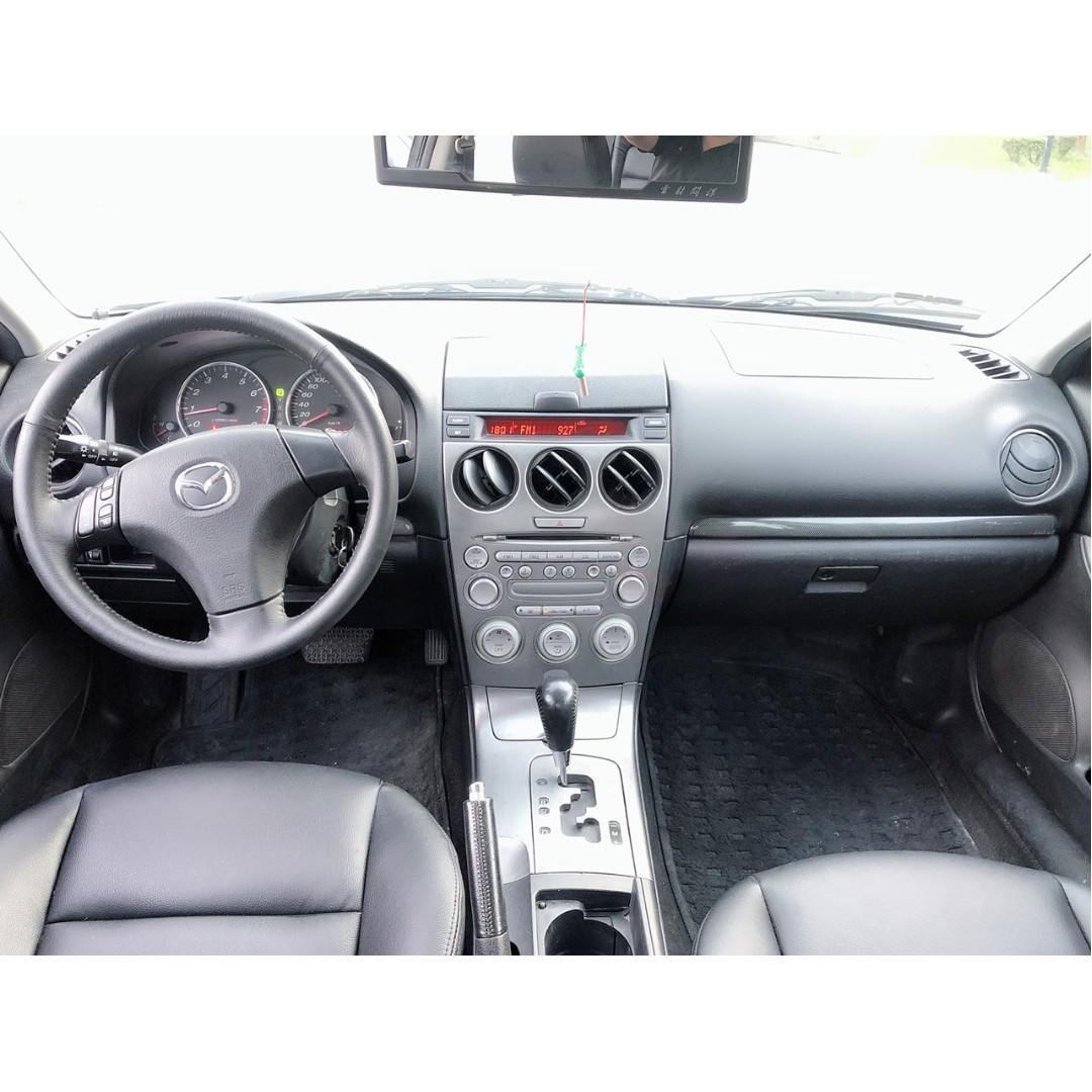2005 MAZDA MAZDA6 馬六 換車出售 原版件 車庫車
