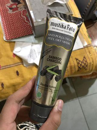 #visitsingapore Peel Off Mask Bamboo Charcoal