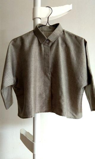 Crop Grey Shirt