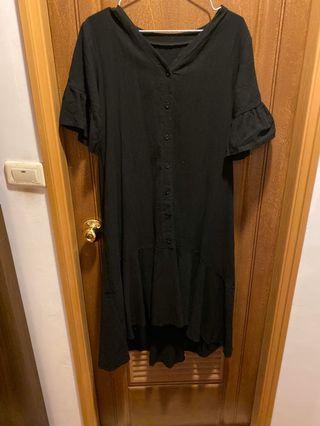 黑色長洋裝