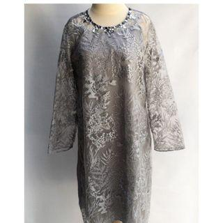 Flair grey dress for rent