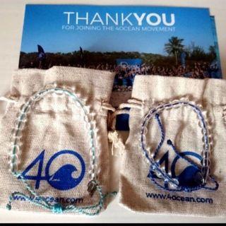 [現貨] 4 Ocean Bracelet 公益環保手鍊