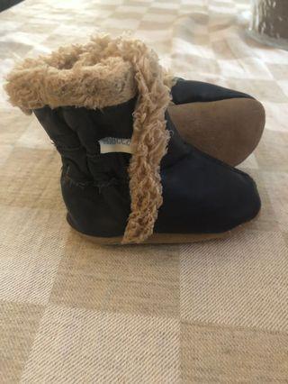 Robeez Baby Boy Winter Boots  0-6 Months
