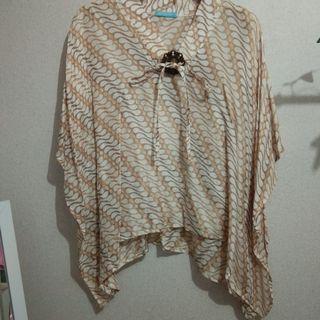 Batik viscose blouse