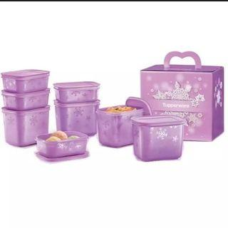 Tupperware Chill Freeze Snowflake Set