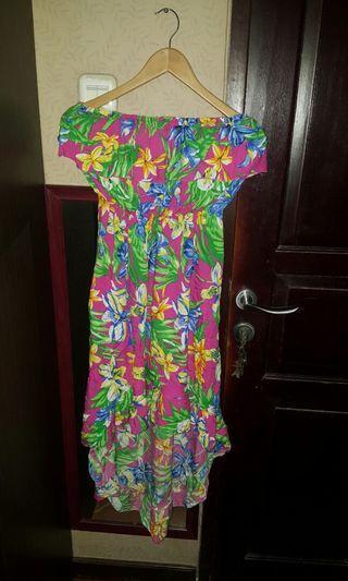 #visitsingapore Flower high low dress