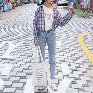 [二手]x_xg _g正韓 merci 短袖t恤 短袖上衣 韓版