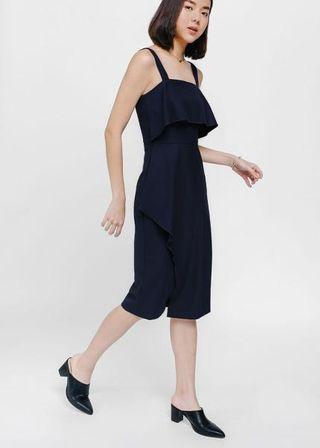 Size XS: Love bonito Belsey Layered Asymmetrical Flounce Dress