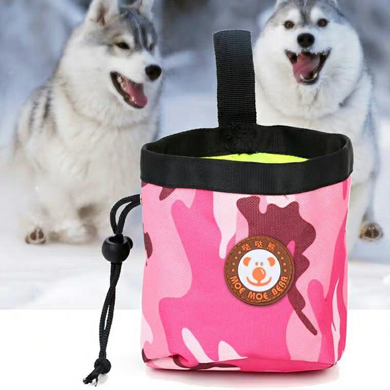 狗糧餵食袋外出用訓犬便攜腰包