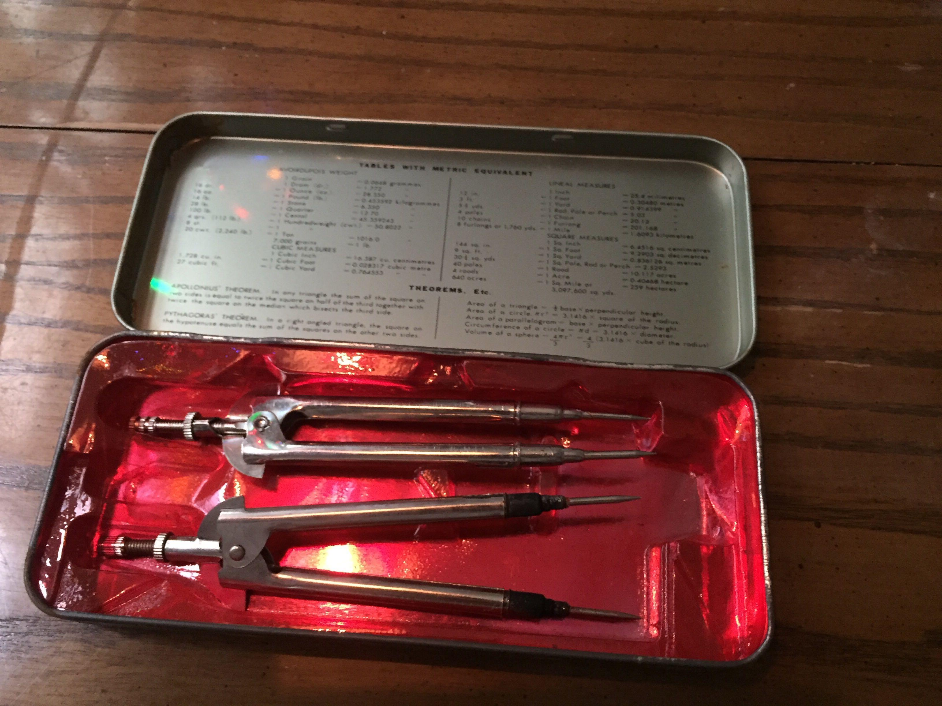 老鐵製文具盒 鉛筆盒