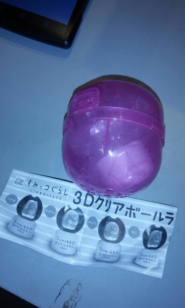 角落生物 水晶球燈飾 白熊款式全新