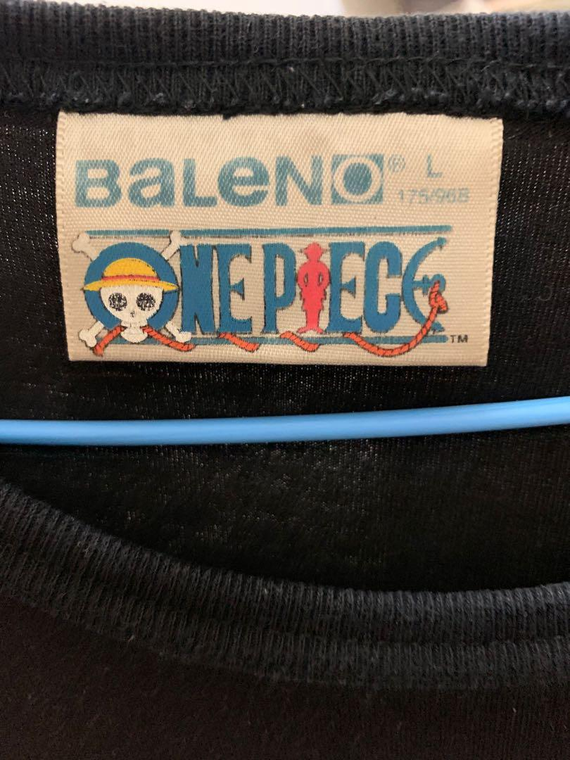 Baleno 班尼路 航海王 魯夫黑色上衣 One piece Luffy  L號