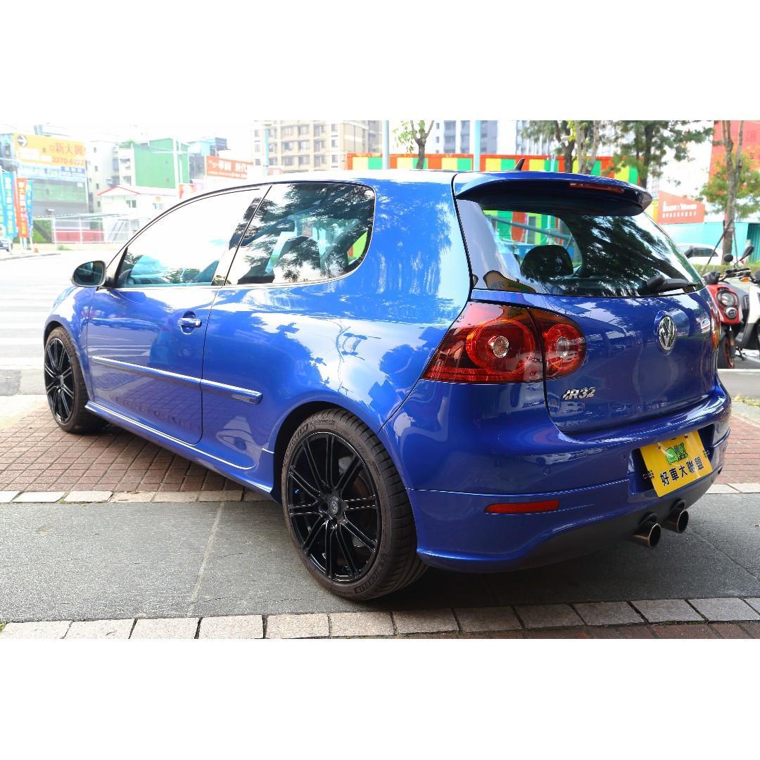 旭騰車業 HOT大聯盟認證 福斯 Volkswagen Golf 2007款 自排 3.2L 經典不滅 小鋼砲