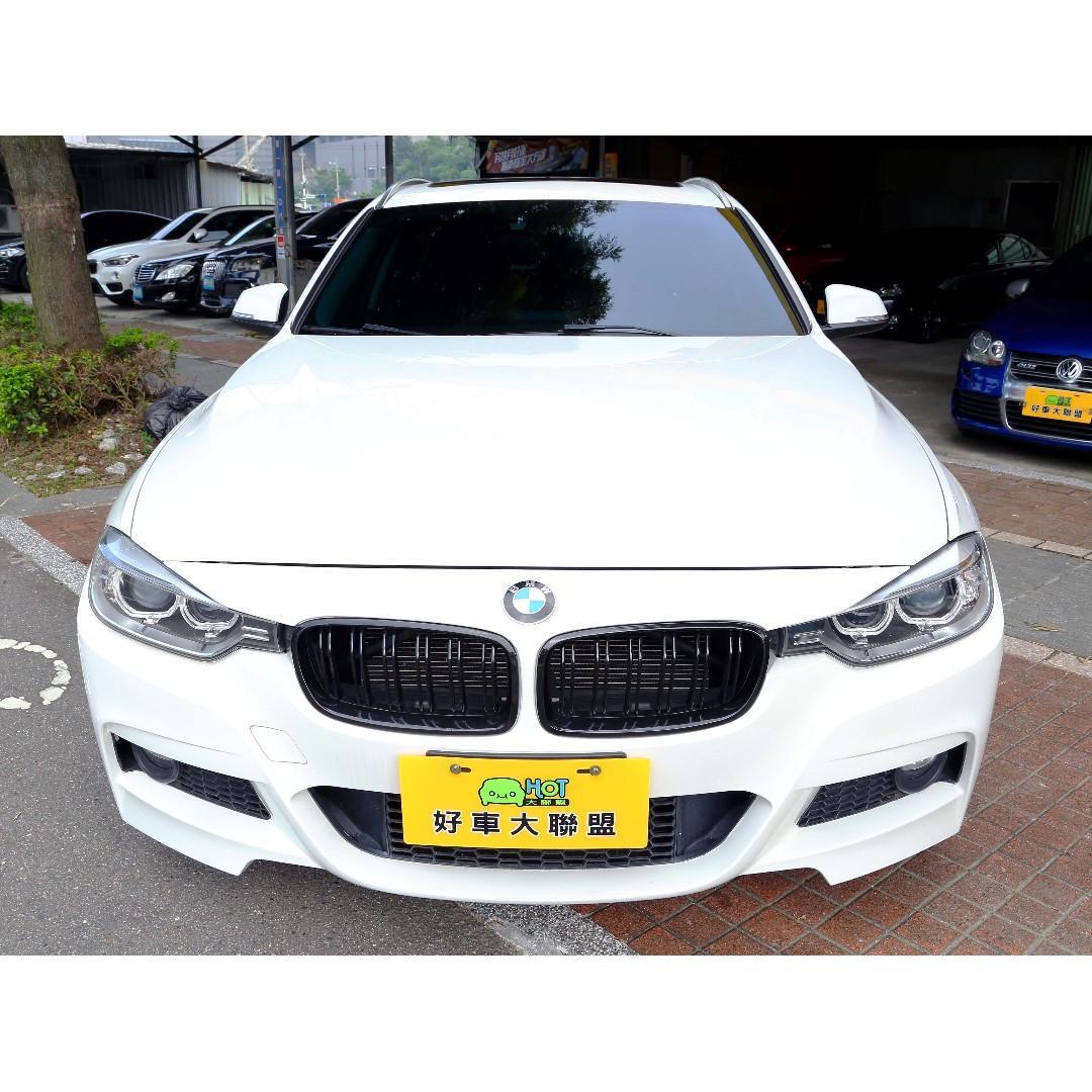旭騰車業 HOT大聯盟認證 BMW 3-Series Touring 320d 2015款 自排 2.0L