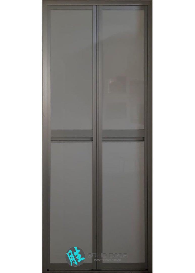 Aluminium Bi-fold Door for HDB & BTO BATHROOMS