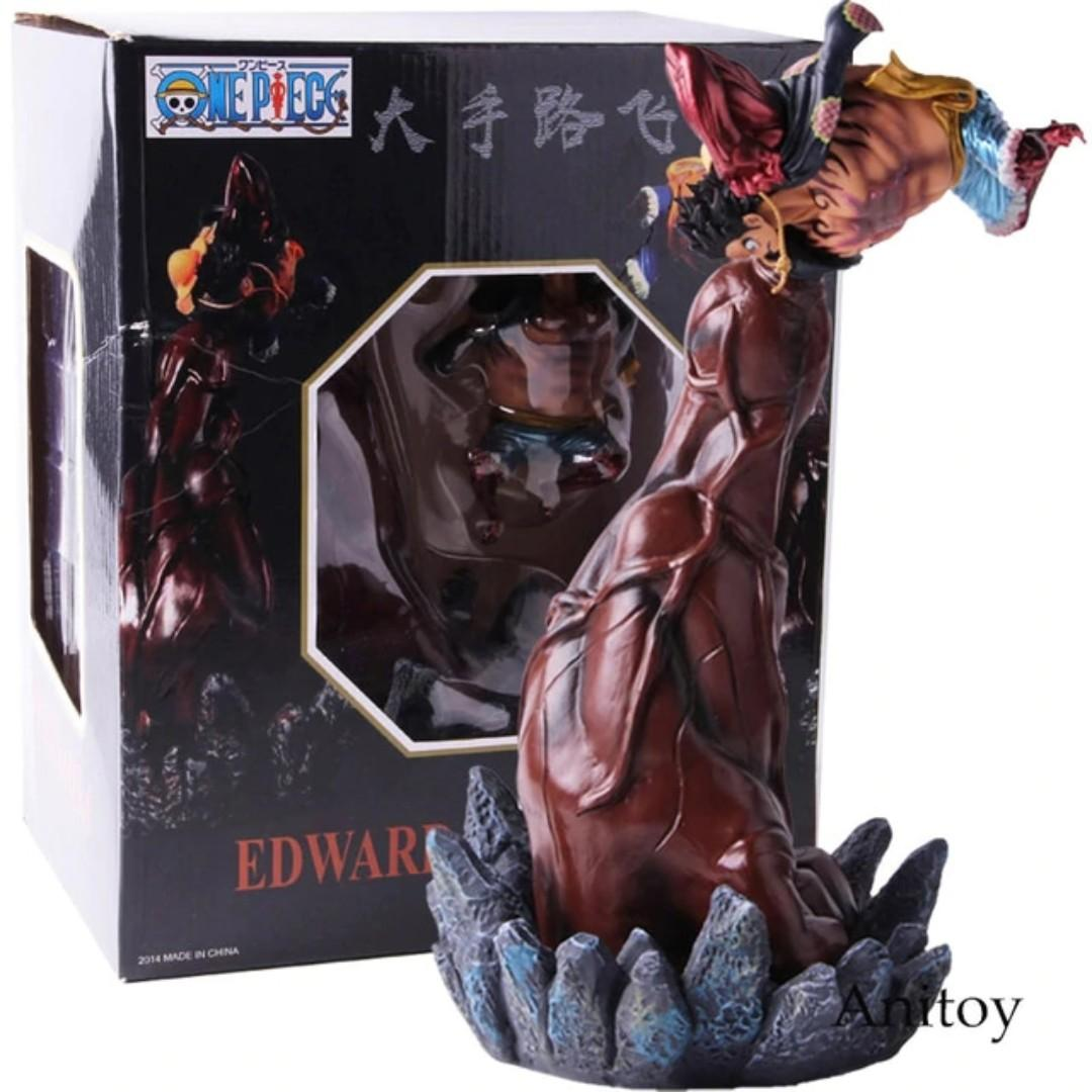 """10/"""" ONE PIECE GK Monkey D Luffy Gear Fourth Snake Form Figure Statue Toy In Box"""