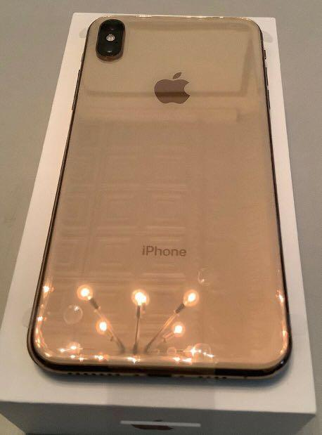 Apple iPhone XS Max 256GB Gold // NEW Open Box CLEAN IMEI