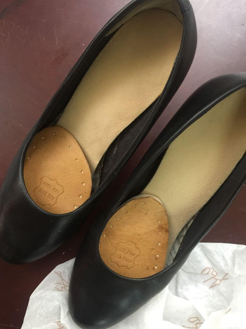 Aso黑高跟鞋