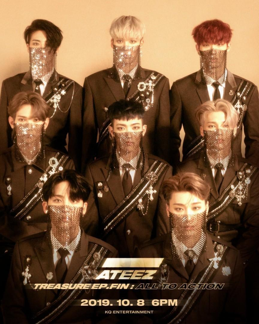 ATEEZ TREASURE EP.FIN : ALL TO ACTION NON PROFIT G.O