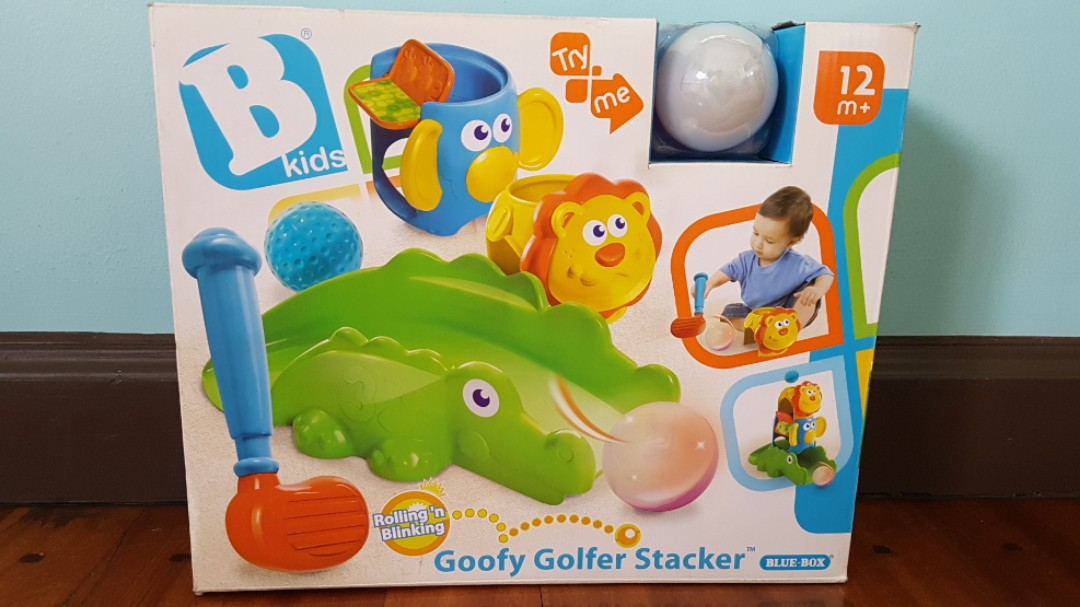 B Kids Goofy Golfer Stacker Babies Kids Toys Walkers On Carousell