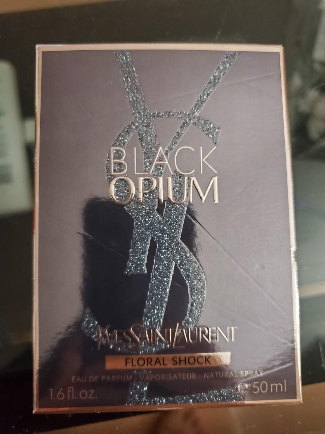 Black Opium Yves Saint Laurent Floral Shock perfume 50mL