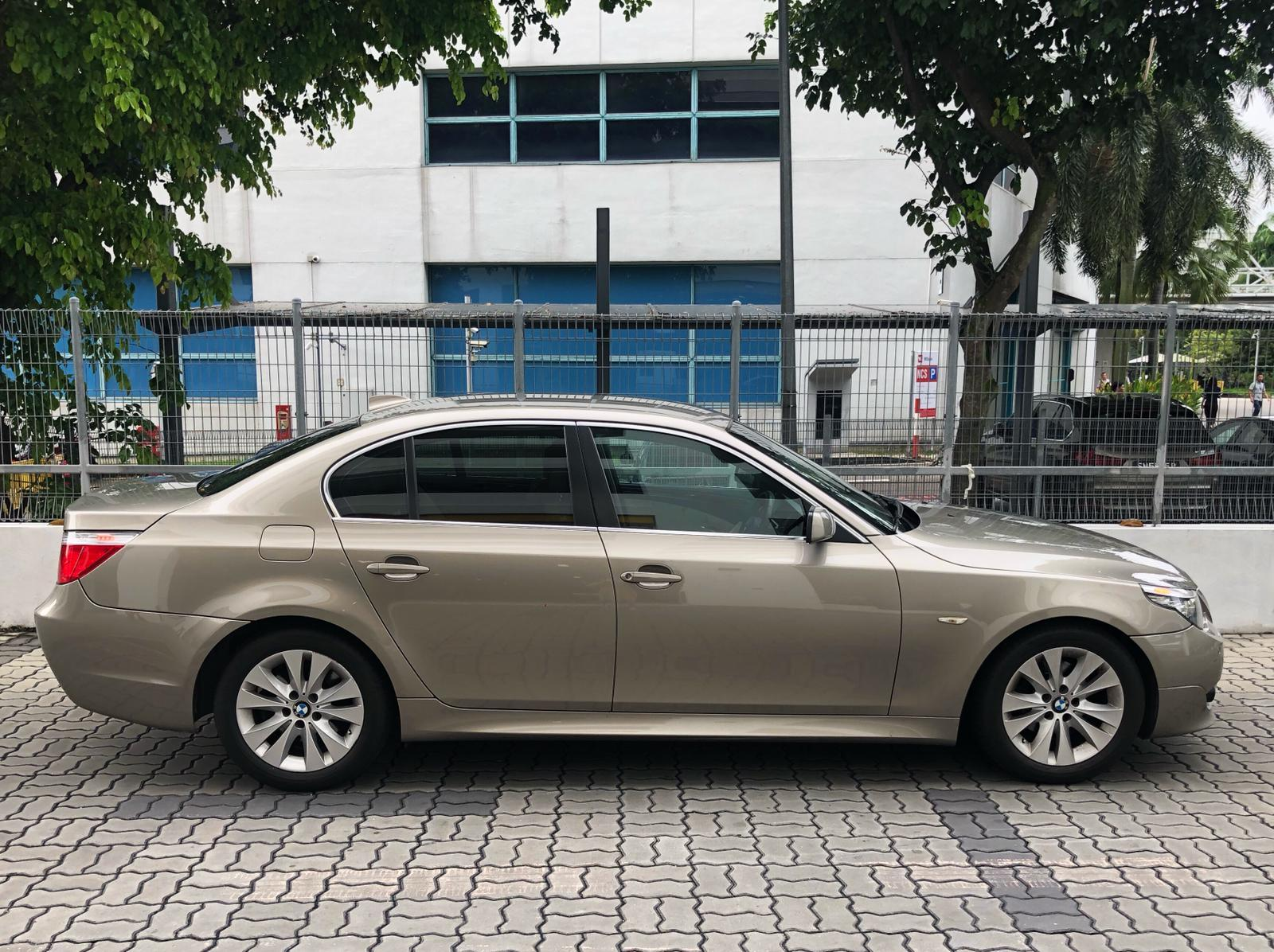 BMW 525i XL conti luxury car rent for personal use grab gojek long term.cheap rental(min 2mth).