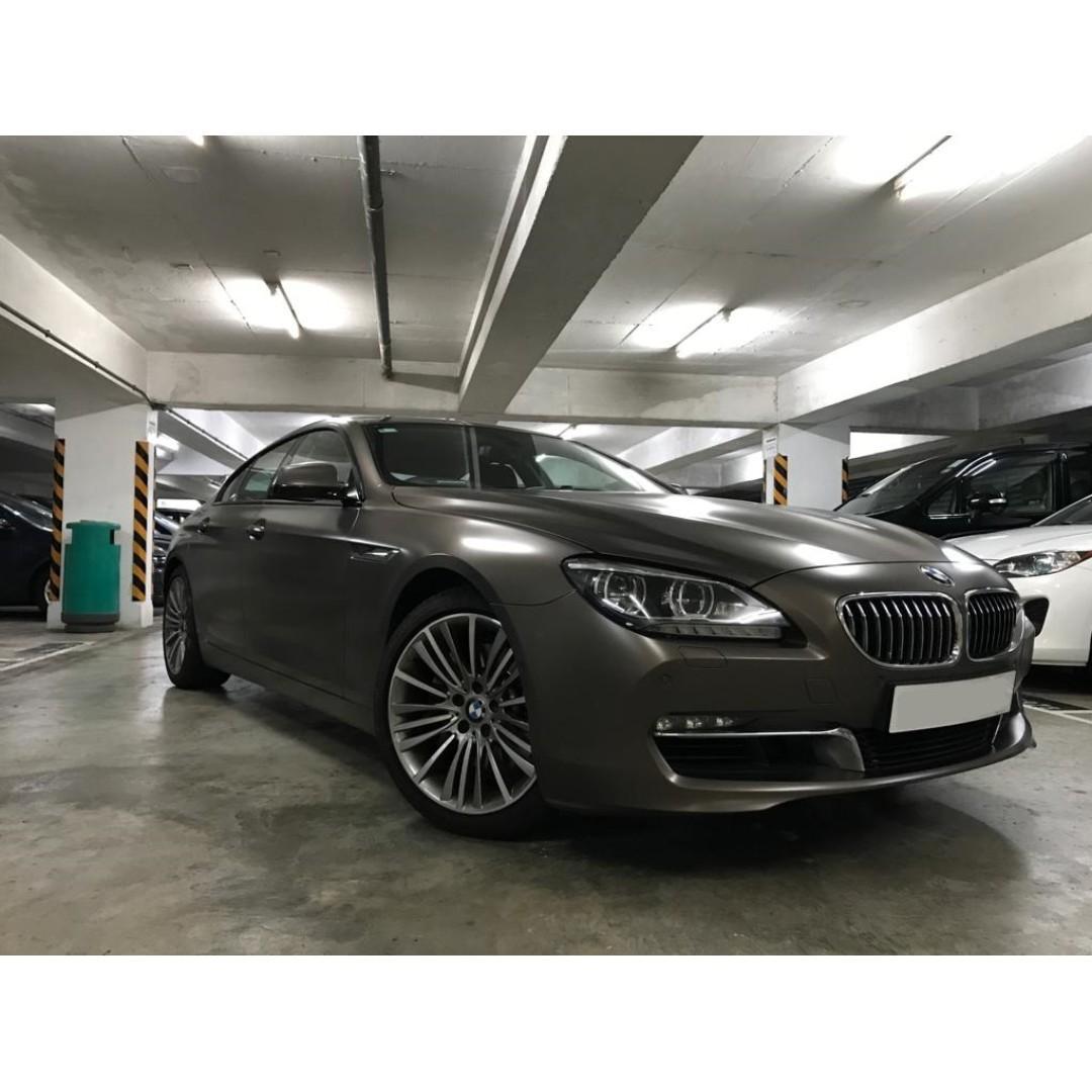 BMW 640I GRAN COUPE 2012