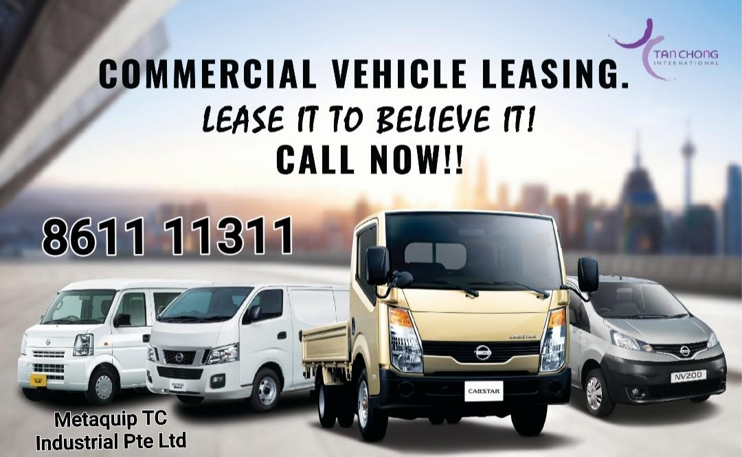 Brand new Commercial Vehicles for Lease