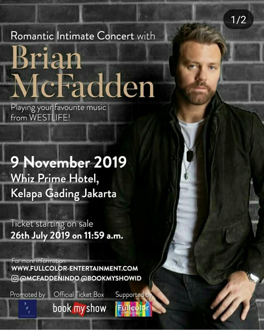 Brian Macfadden intimate concert