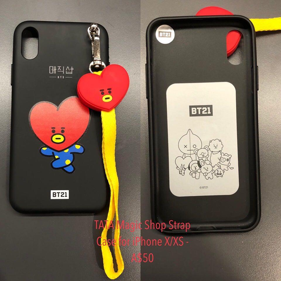 BTS 5th Muster Magic Shop Phone Cover Limited Edition for iPhone X/XS