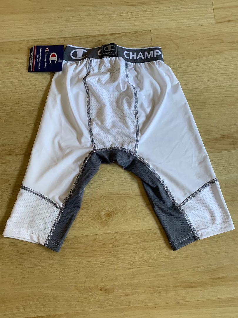 "Champion men's power flex compression 9"" short"
