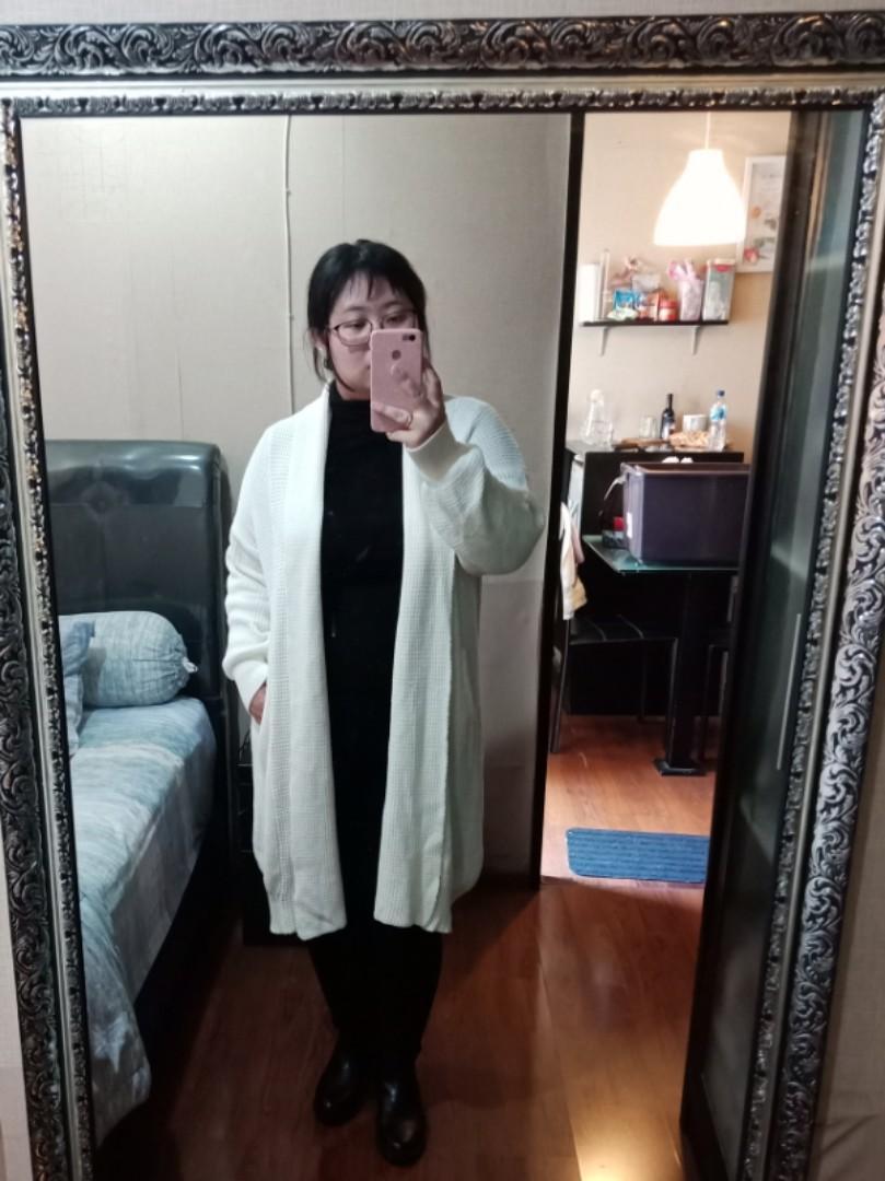 Coat Sweter Outwear Cardigan matel wanita untuk winter dan autumn gaya korea