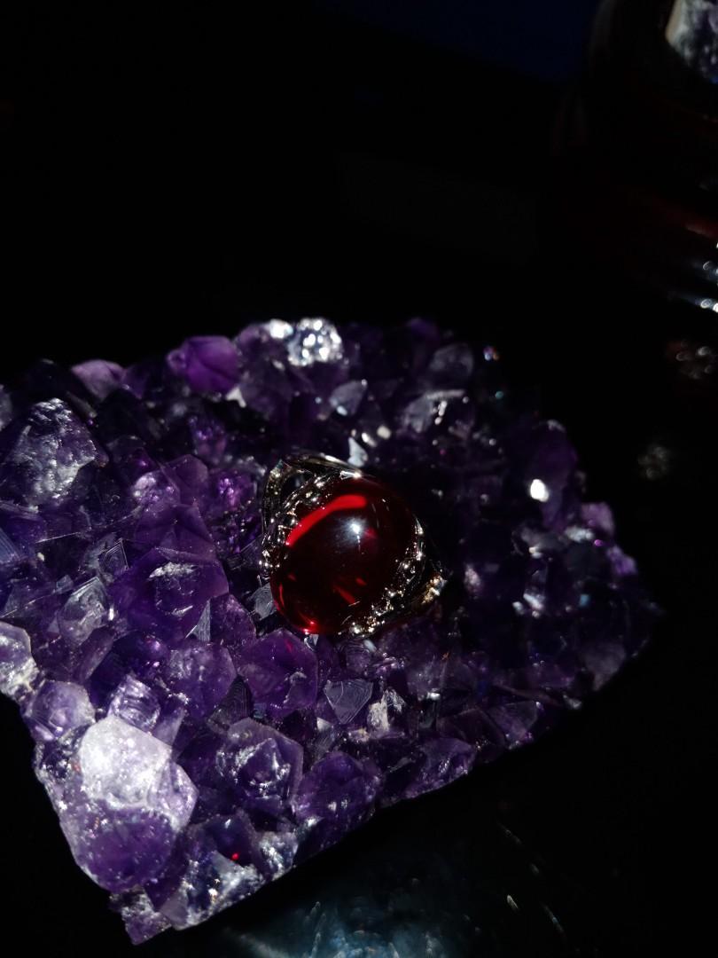 Crystal Ring (红钢石)
