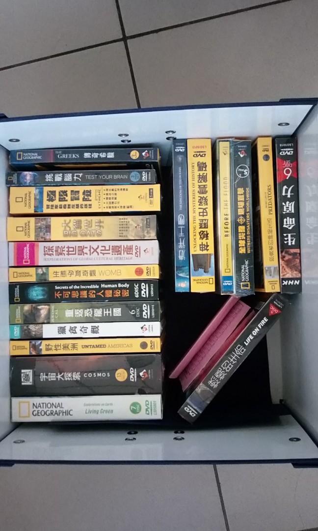 新貨國家地理頻道DVD,100片
