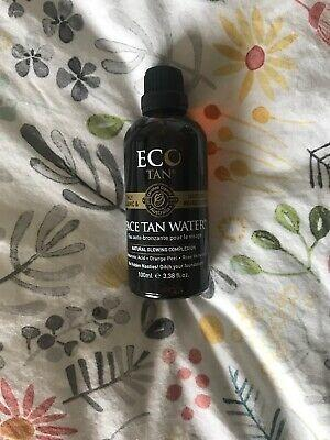 Eco Tan Organic Face Tan Water 100ml Brand New & Authentic [No Swaps, Price is Firm]