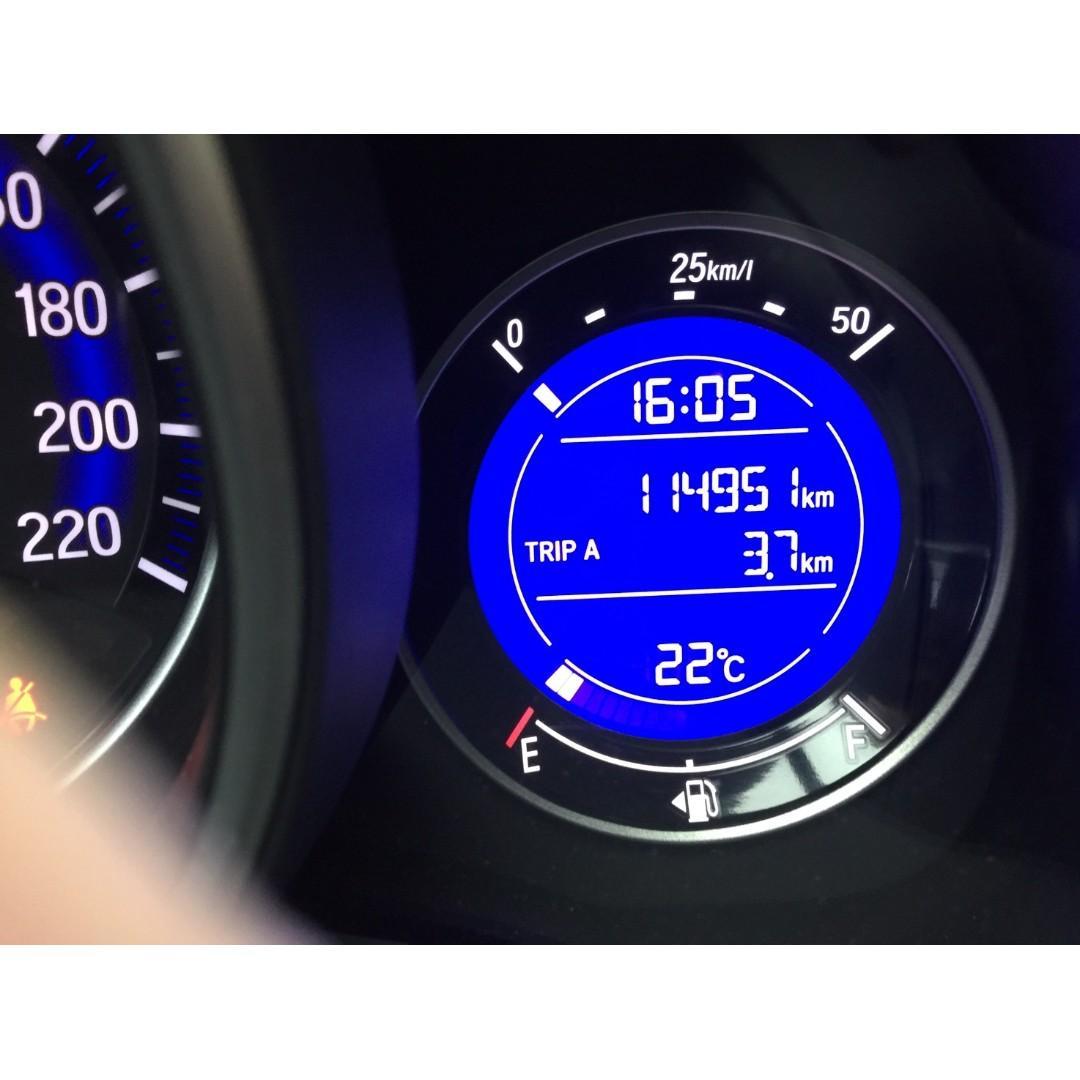 【FB搜尋桃園阿承】本田 超人氣FIT頂級 2015年 1.5 白色 二手車 中古車