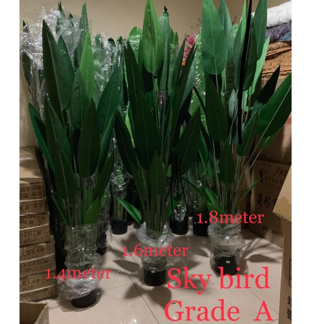 Free Delivery Artificial Bird of Paradise Plant