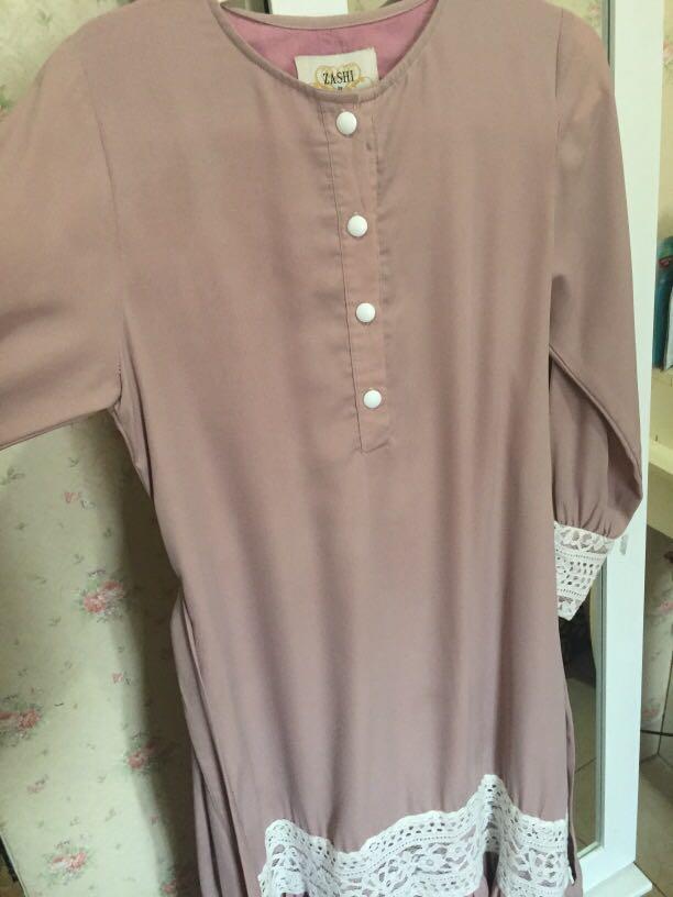 Gamis Zaskia Sungkar Fesyen Wanita Muslim Fashion Gaun Di Carousell